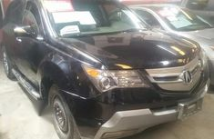 Neat Foreign used Acura MDX 2007 Black