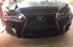 Clean Foreign Used Lexus IS 2014 Black
