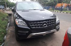 Selling 2014 Mercedes-Benz ML350 automatic at mileage 0