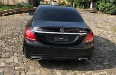 Clean Foreign used Mercedes-Benz C300 2015 Black