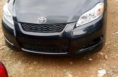 Clean Foreign used Toyota Matrix 2010 Black