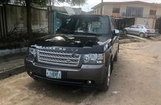 Sell well kept black 2010 Land Rover Range Rover Vogue automatic in Lagos