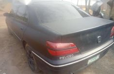 Well Maintained Nigerian used Peugeot 406 2003 Black
