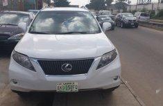 Super Clean Nigerian used Lexus RX 2010 350 White