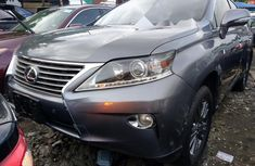 Sell grey/silver 2013 Lexus RX automatic at price ₦7,299,999