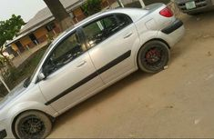 Nigerian Used Kia Rio 2006 Model Silver Colour in Lagos