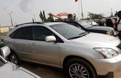 Nigerian Used 2004 Lexus RX Gold Colour