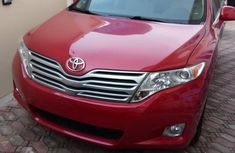 Clean Foreign used Toyota Venza 2012 AWD Red