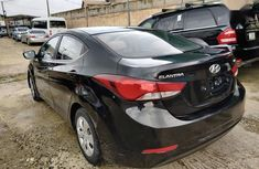 Nigerian Used 2014 Hyundai Elantra  Black Colour