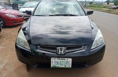 Clean Nigerian used Honda Accord 2004 Automatic Black