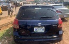 Clean Nigerian used Toyota Matrix 2004 Blue