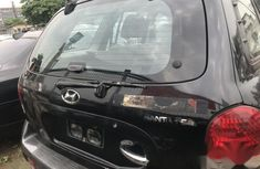 Nigerian Used Hyundai Santa Fe 2006 Black Colour