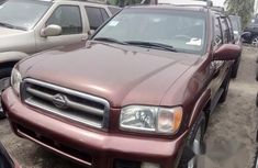Foreign Used Nissan Pathfinder 2003 Red Colour