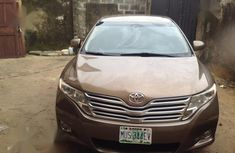 Neat Nigerian used Toyota Venza 2011 V6 AWD Brown