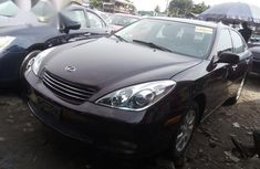 Neat Foreign used Lexus ES 2003 Pink
