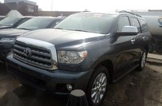 Foreign Used Toyota Sequoia 2013 Gray