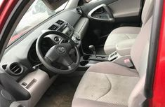 Super Clean Foreign used Toyota RAV4 2007 1.8 Red