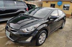 Sell black 2014 Hyundai Elantra sedan automatic at cheap price