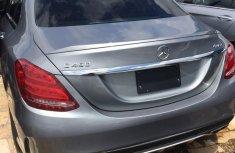 Neat Tokunbo Mercedes-Benz C400 2017 Gray