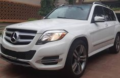 Sell used white 2014 Mercedes-Benz GLK suv / crossover at price ₦8,200,000