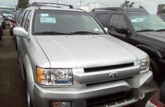 Foreign Used Infiniti QX4 2002 Silver