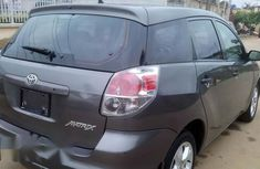 Clean Nigerian used Toyota Matrix 2003 Gray