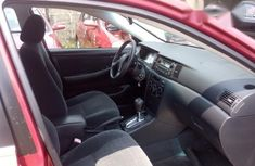 Foreign Used Toyota Corolla Sport 2007 Red