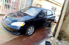 Very sharp neat black 2005 Toyota Corolla automatic for sale