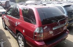 Foreign Used Acura MDX 2006 Red