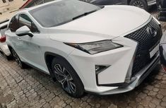 Best priced new white 2018 Lexus RX automatic in Lagos