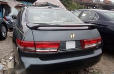 Foreign Used Honda Accord 2005 Gray