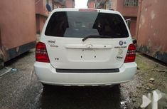 Neat Foreign used Toyota Highlander 2002 White