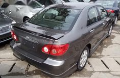 Foreign Used Toyota Corolla Sport 2006 Gray