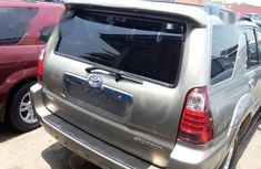 Foreign Used Toyota 4runner 2008 Gold Colour