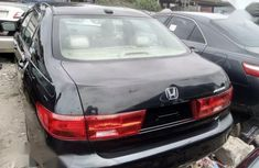 Clean Foreign used Honda Accord 2005 Black