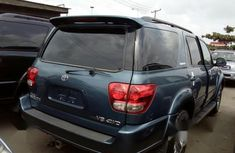 Foreign Used Toyota Sequoia 2007 Blue