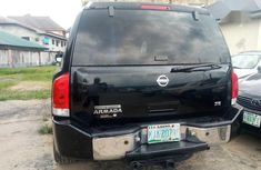 Nigerian Used Nissan Armada 2004 Black Colour