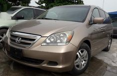 Neat Foreign Used Honda Odyssey 2005 EX Automatic Gold