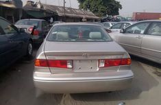 Clean Tokunbo Toyota Camry 2001 Gold