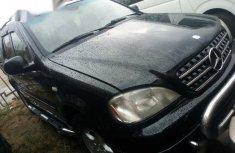 Clean Nigerian used Mercedes-Benz M Class 2001 Black