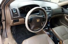 Nigerian Used Honda Accord 2006 Gold Colour