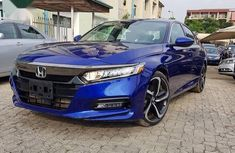 Foreign Used Honda Accord Sport 2018 Blue Colour