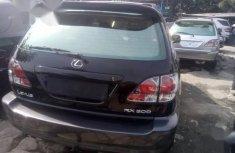 Clean Tokunbo Lexus RX 2003 Black