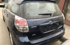 Super Clean Foreign Used Toyota Matrix 2007 Blue Colour