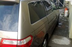 Foreign Used Honda Odyssey Touring 2005 Gold