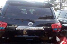 Clean Tokumbo Toyota Sequoia 2012 Black