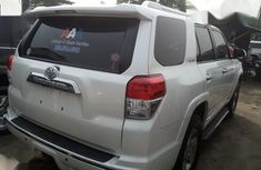 Neat Foreign used Toyota 4runner White 2013
