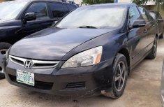 Neatly Used Nigerian Used 2006Honda Accord Coupe LX