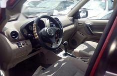 Clean Foreign used Toyota Rav4 2004 Red