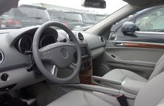Foreign Used Mercedes-Benz M Class ML350 2008 Silver